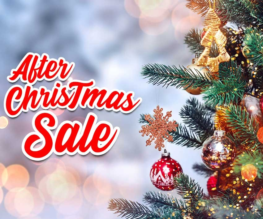 After Christmas Sales 2019